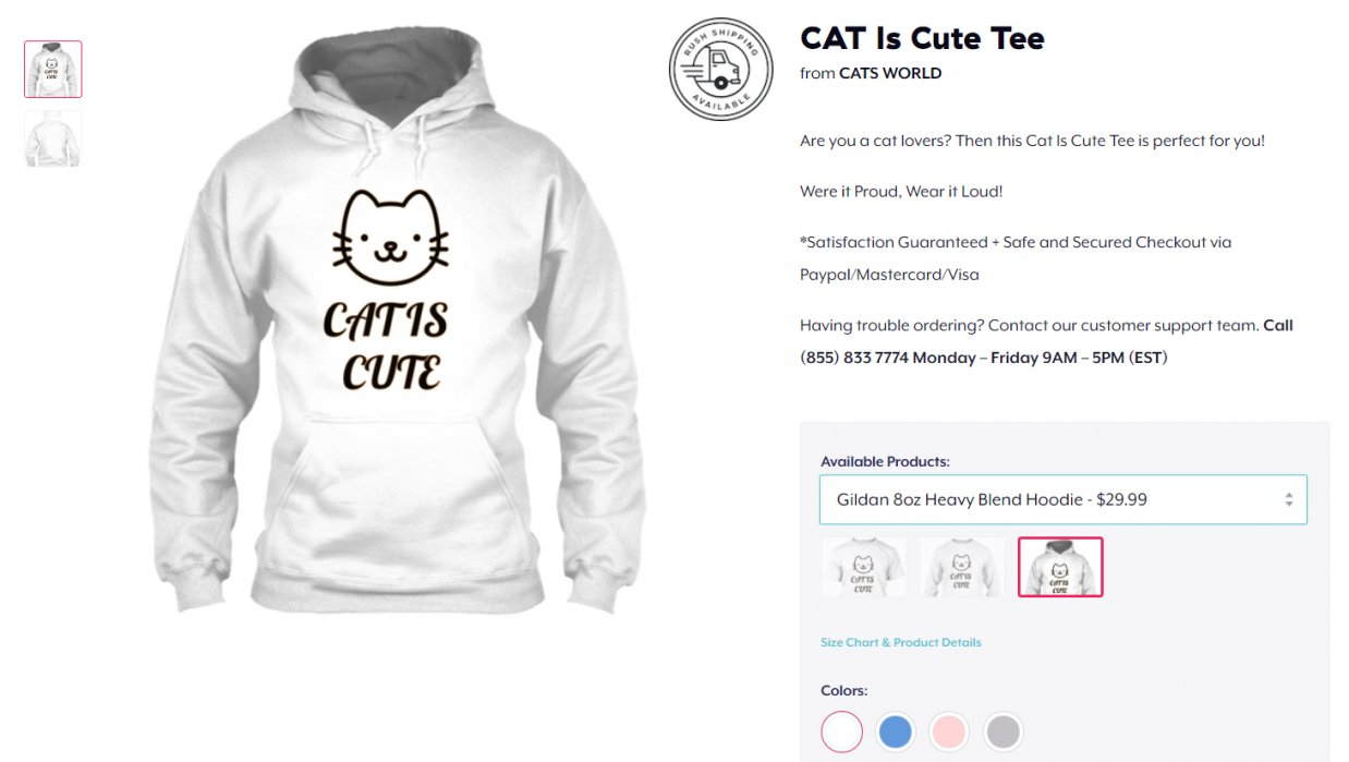 My very fist Teespring campaign - student project