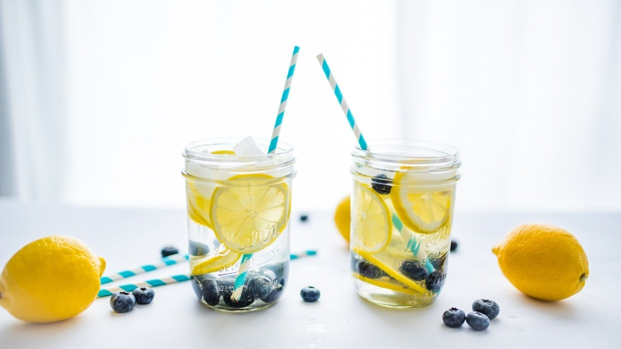 Detox Water - student project