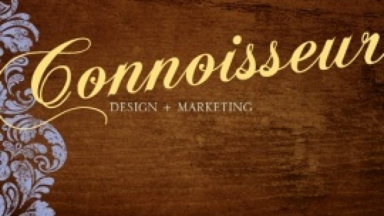 Connoisseur Design Website - student project
