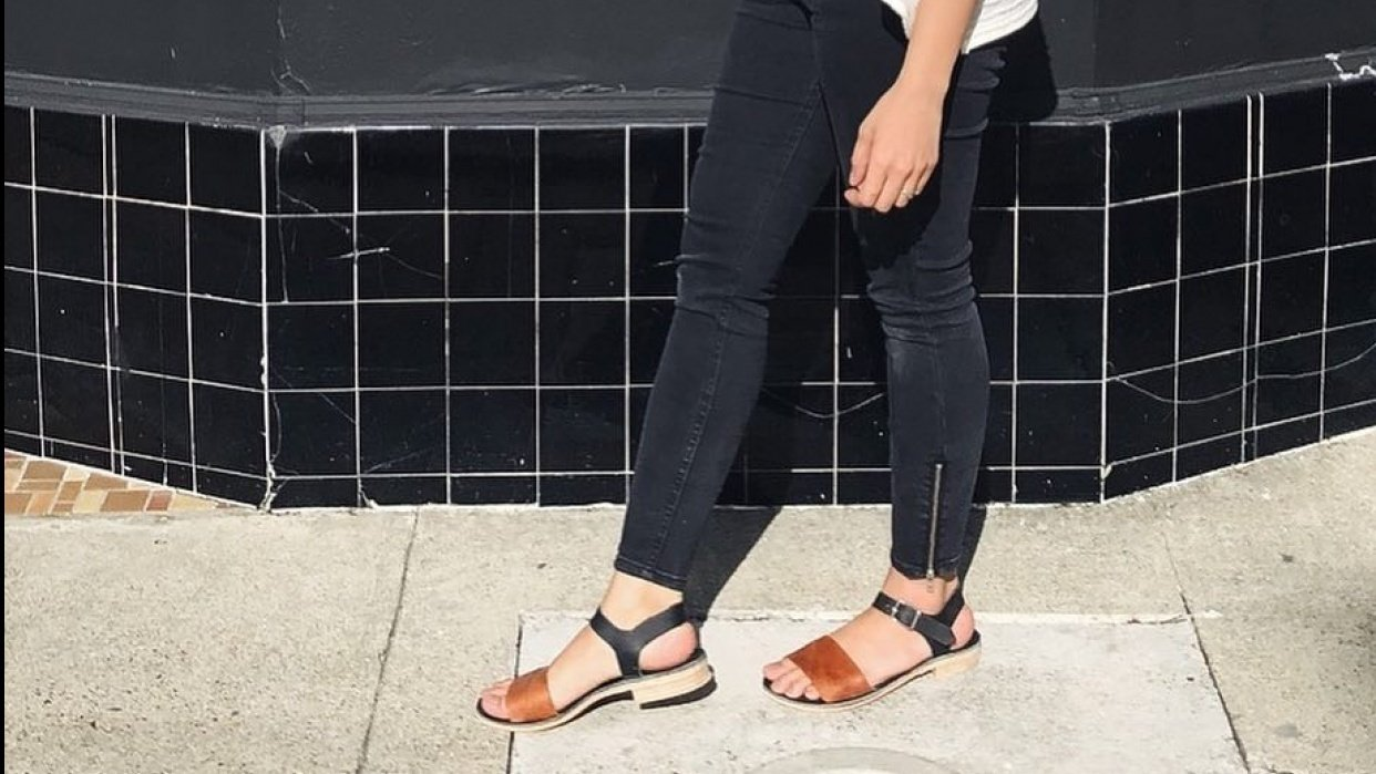 My first sandals - student project