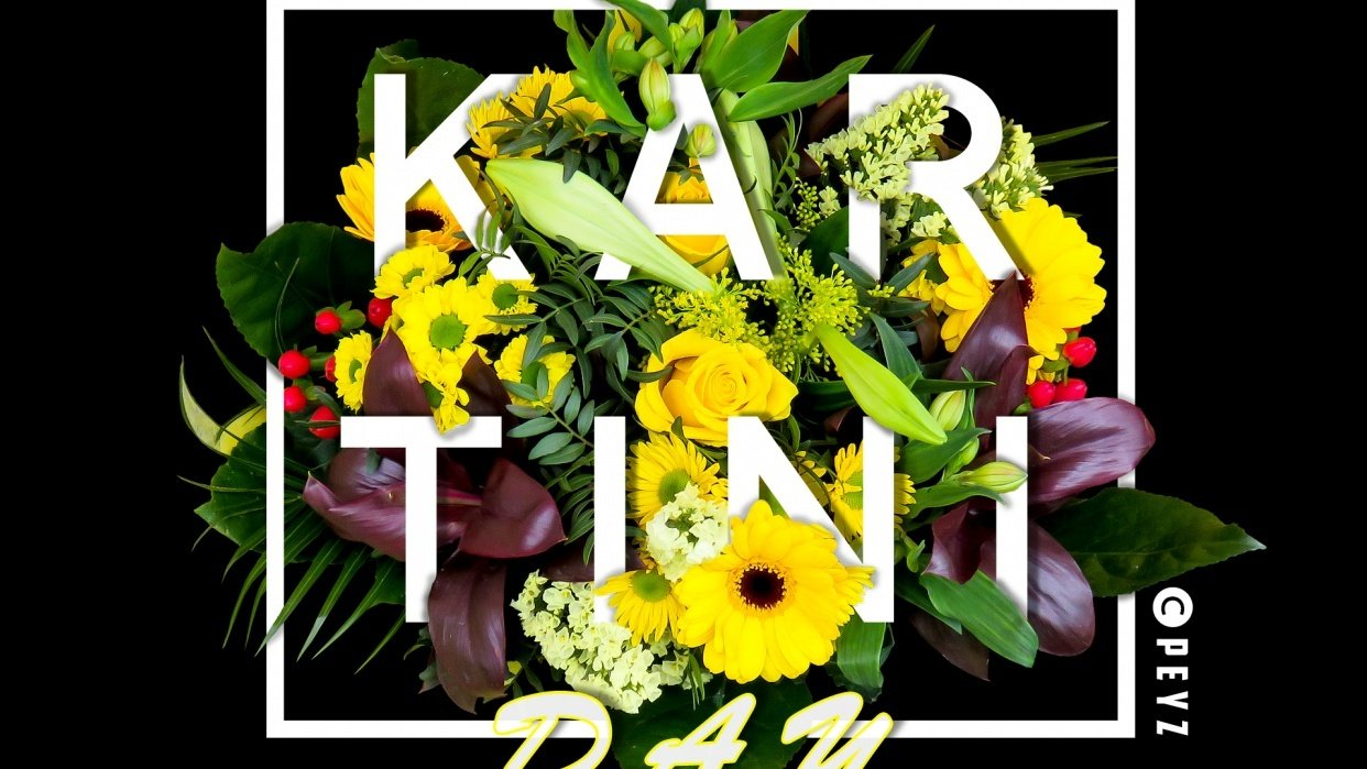 kartini day flower bouquet - student project