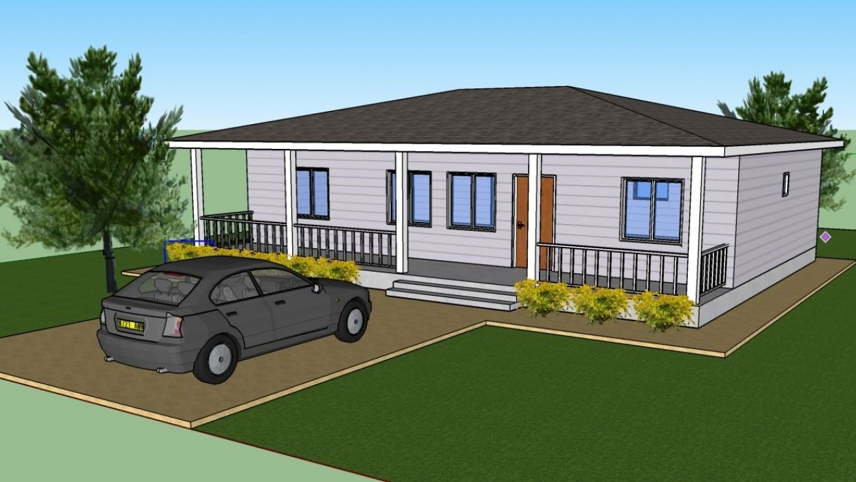 Basic House - student project