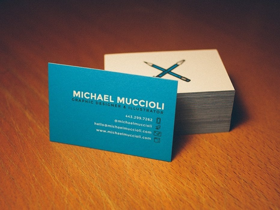 Freelance Business Card - student project