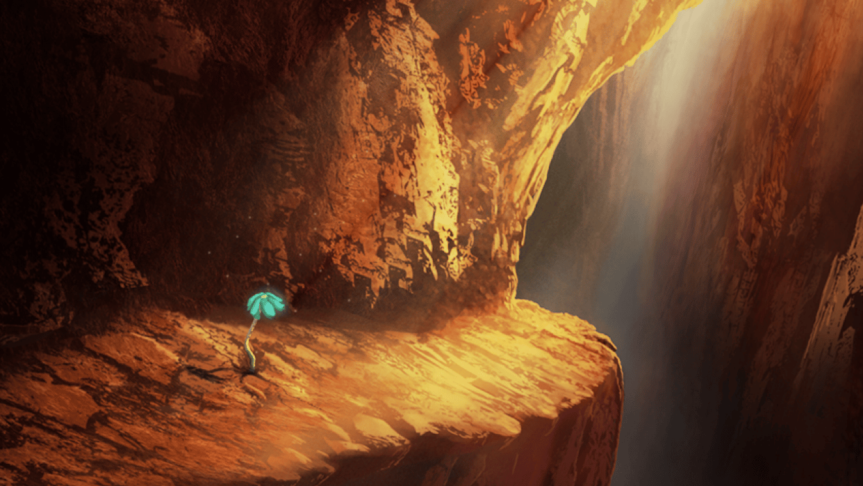 Blue Flower Chasm - student project