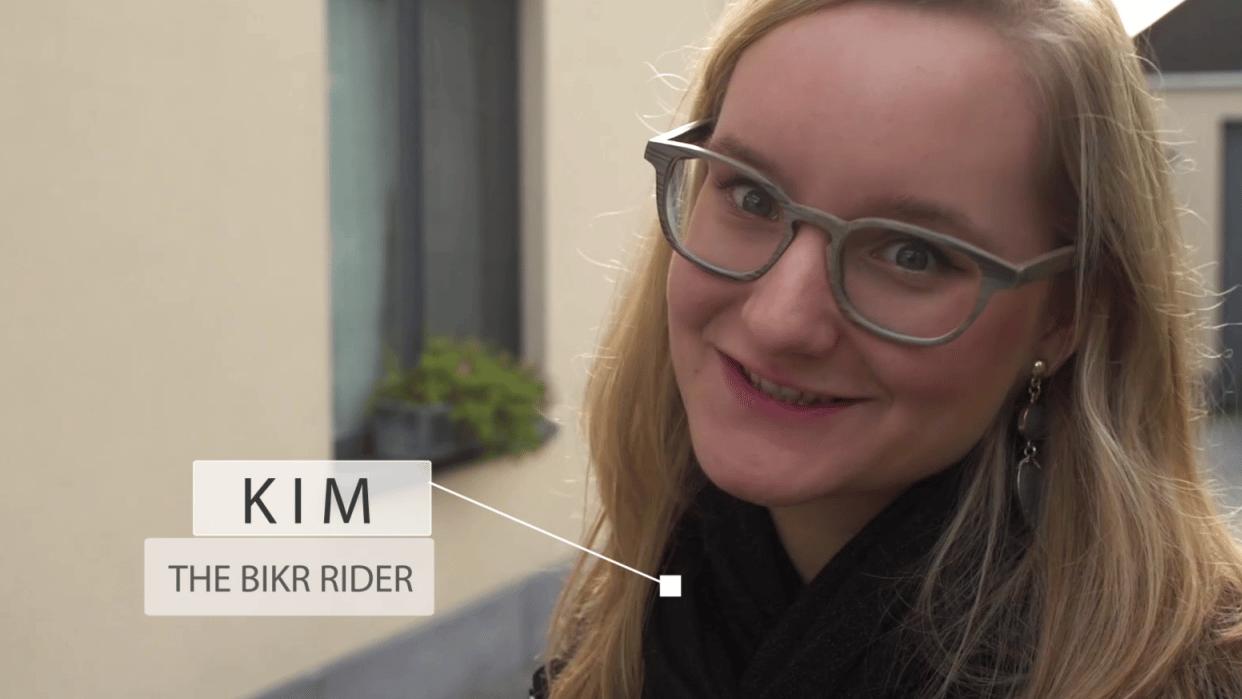 BIKE RIDER !!! - student project