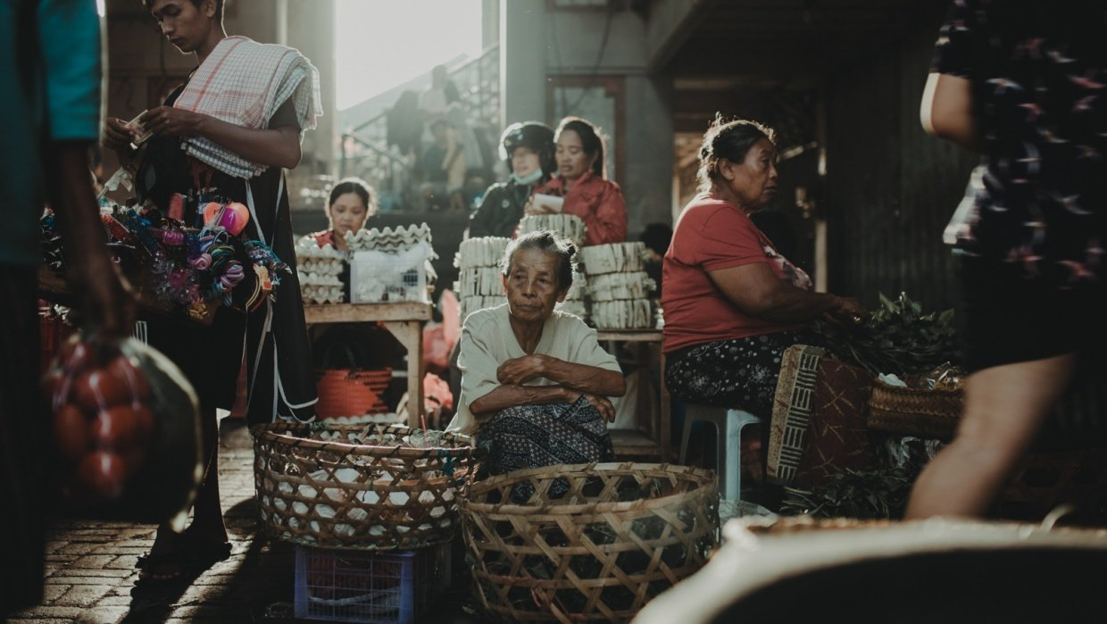 Street Photography in Bali - student project
