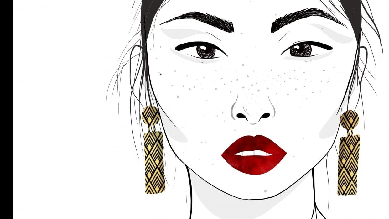 Minimalist Fashion Piece w/Jewellery - student project