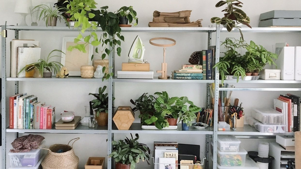 Project studio shelve syling - student project