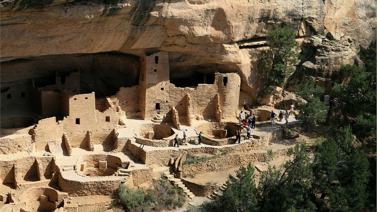 The Trail to Cliff Palace - student project