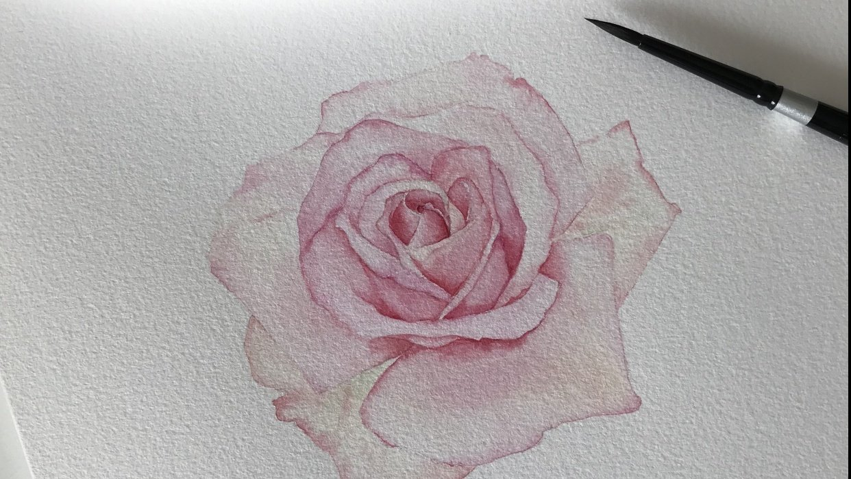 Rose based on the teaching of Louise Demasi - student project