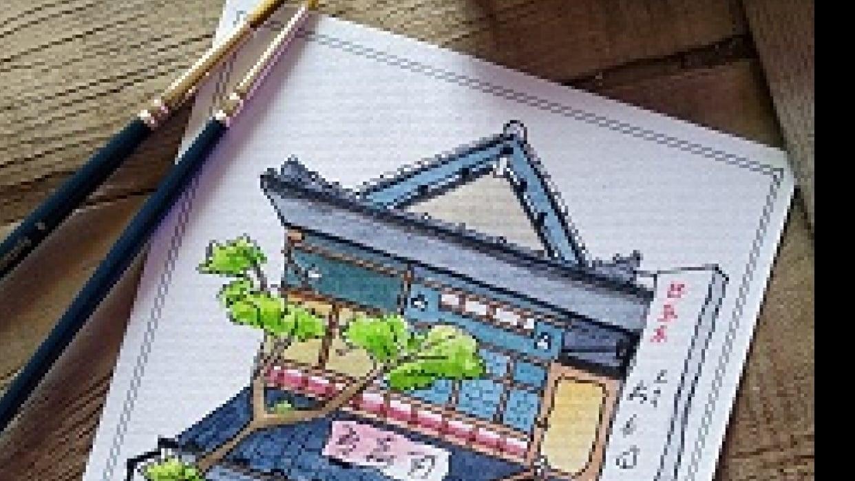 Aspiring Anime Background Artist - student project