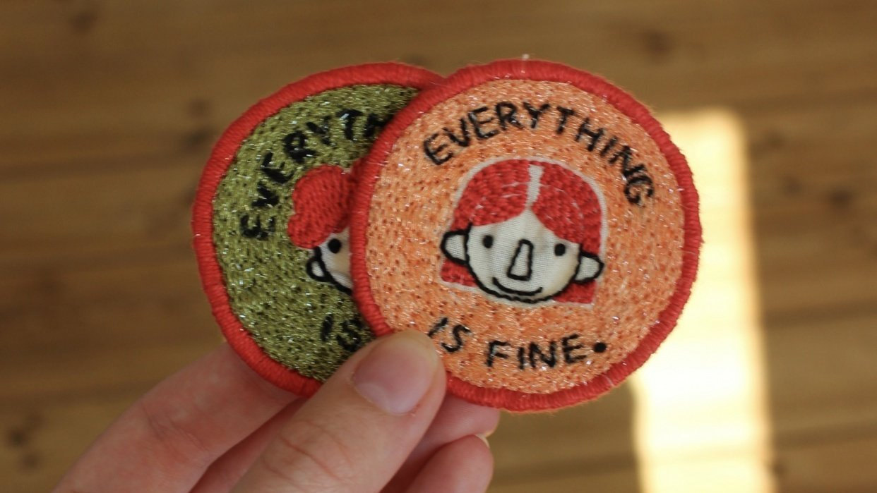 """""""Everything is fine"""" Patches - student project"""
