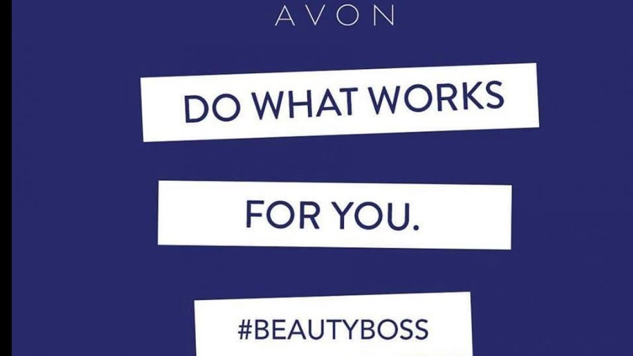 Branding Myself as an Avon Representative - student project