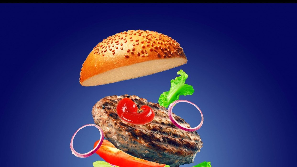 The Burger Ad - student project