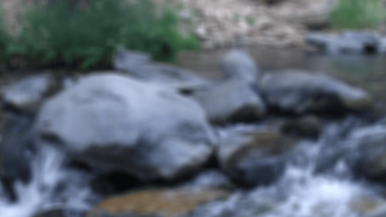 Blured Rocks - student project