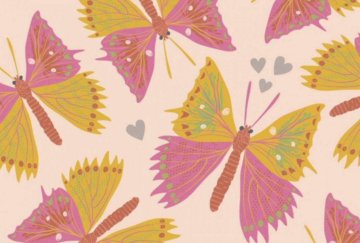 Butterflies (example project) - student project