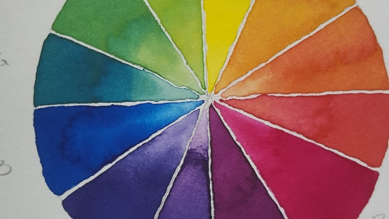 Color Mixing Wheels - student project
