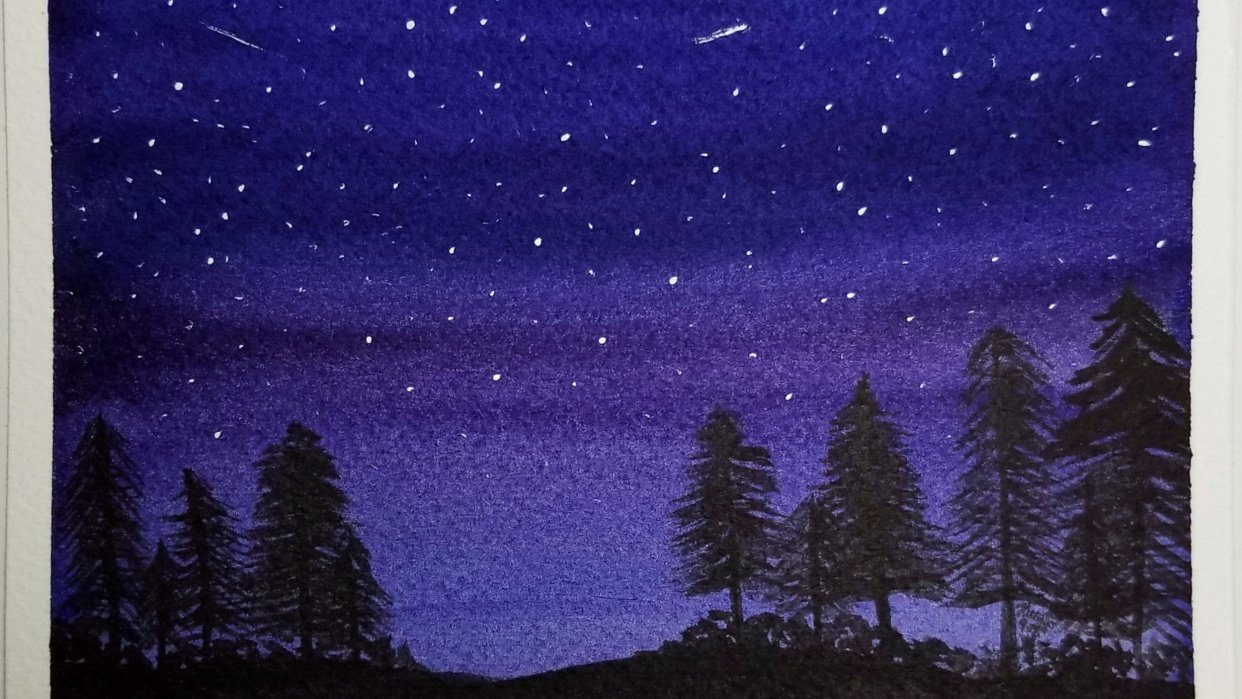 Starry Night - student project