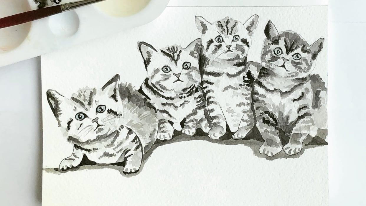 Inky Kitties - student project