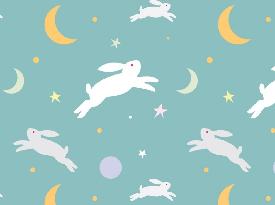 Rabbits and Moons - student project