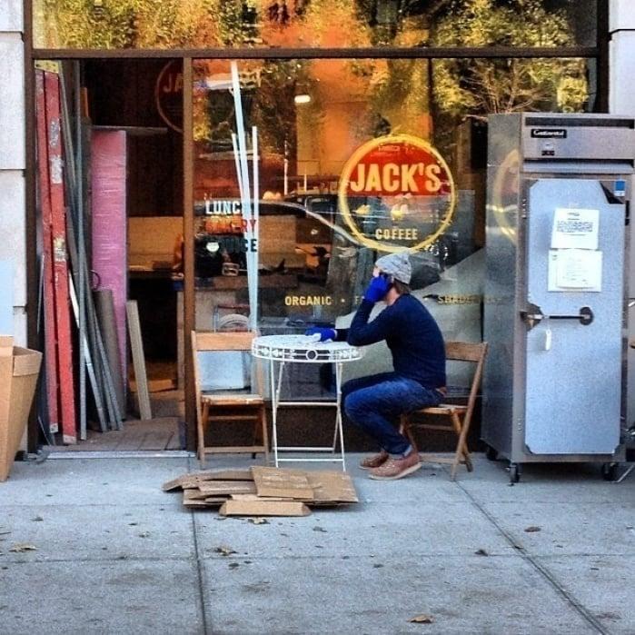 Downtown Manhattan Walk - student project