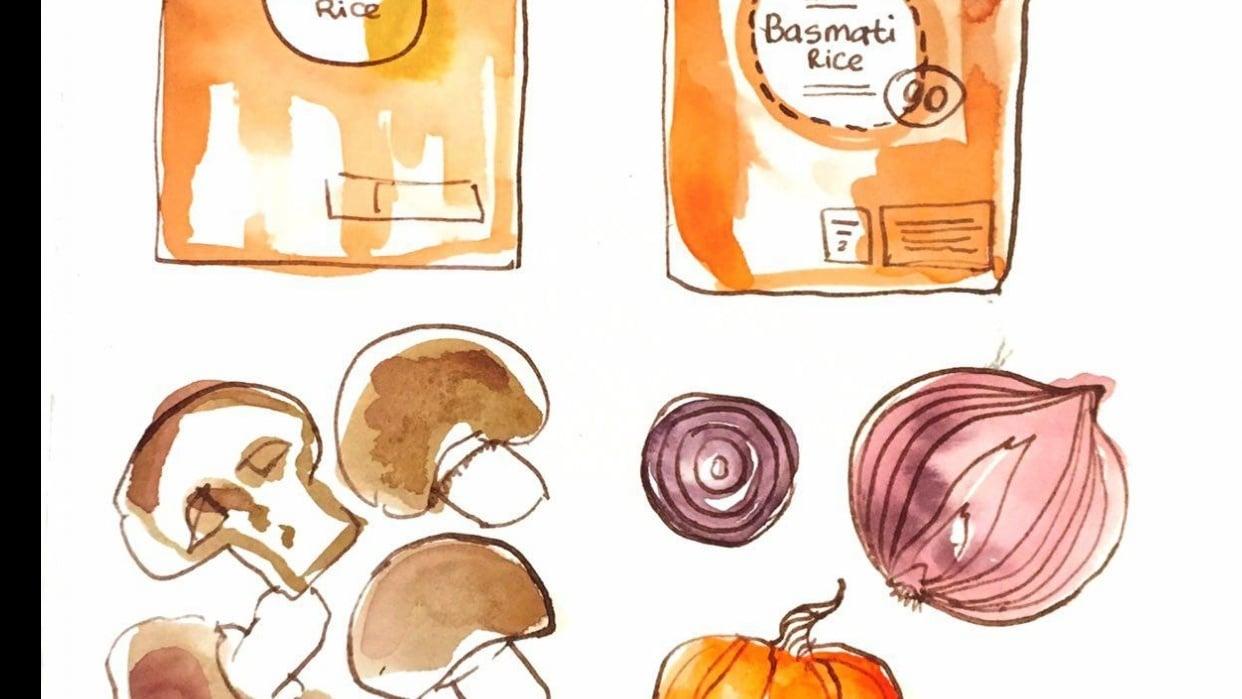 sketchbook practice - student project