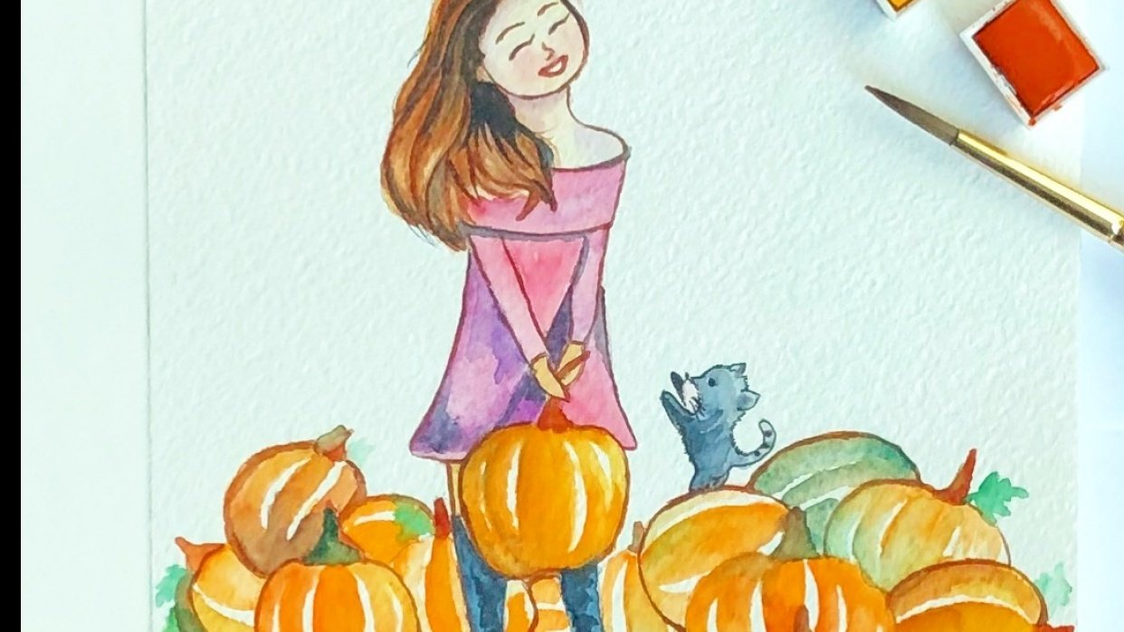Pumpkin Patch - student project