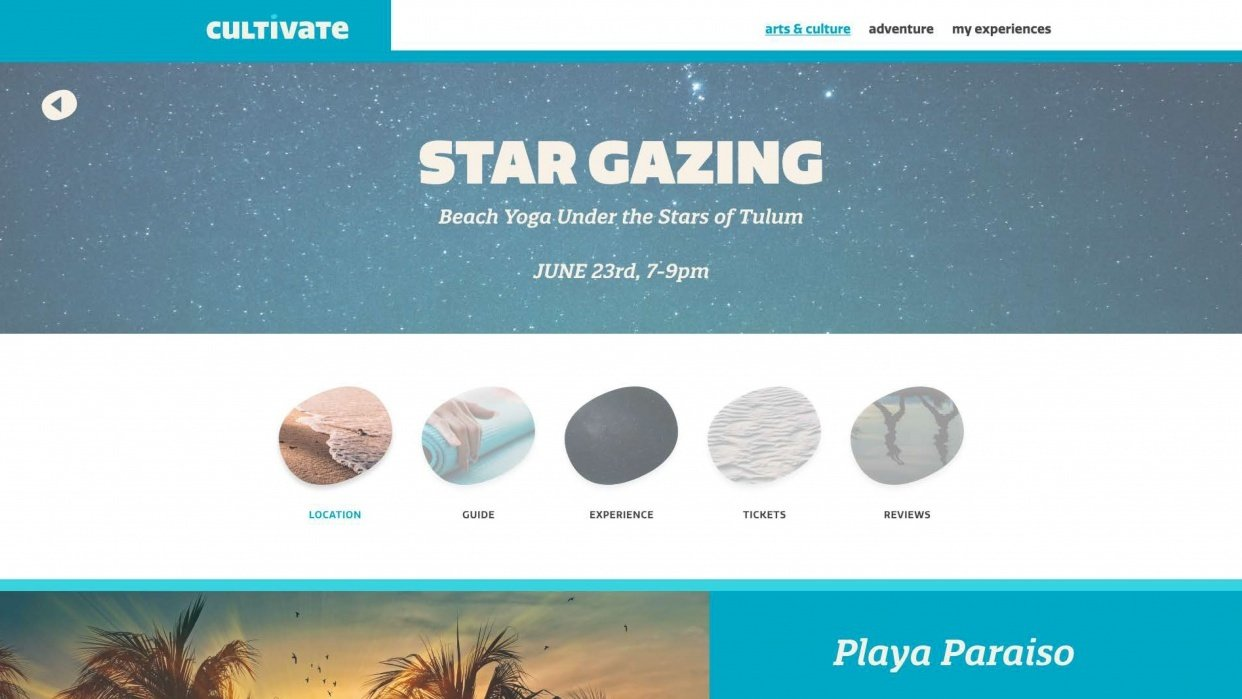 Travel Site PDP - student project