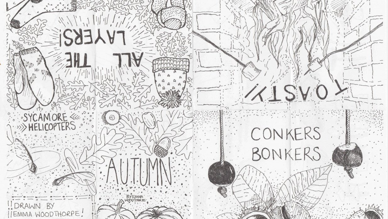 Autumn Zine - student project