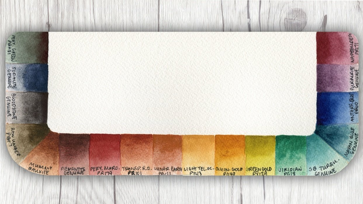 Denise's Custom Earthy Palette - student project