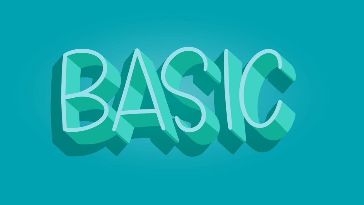 Basic 3D - student project