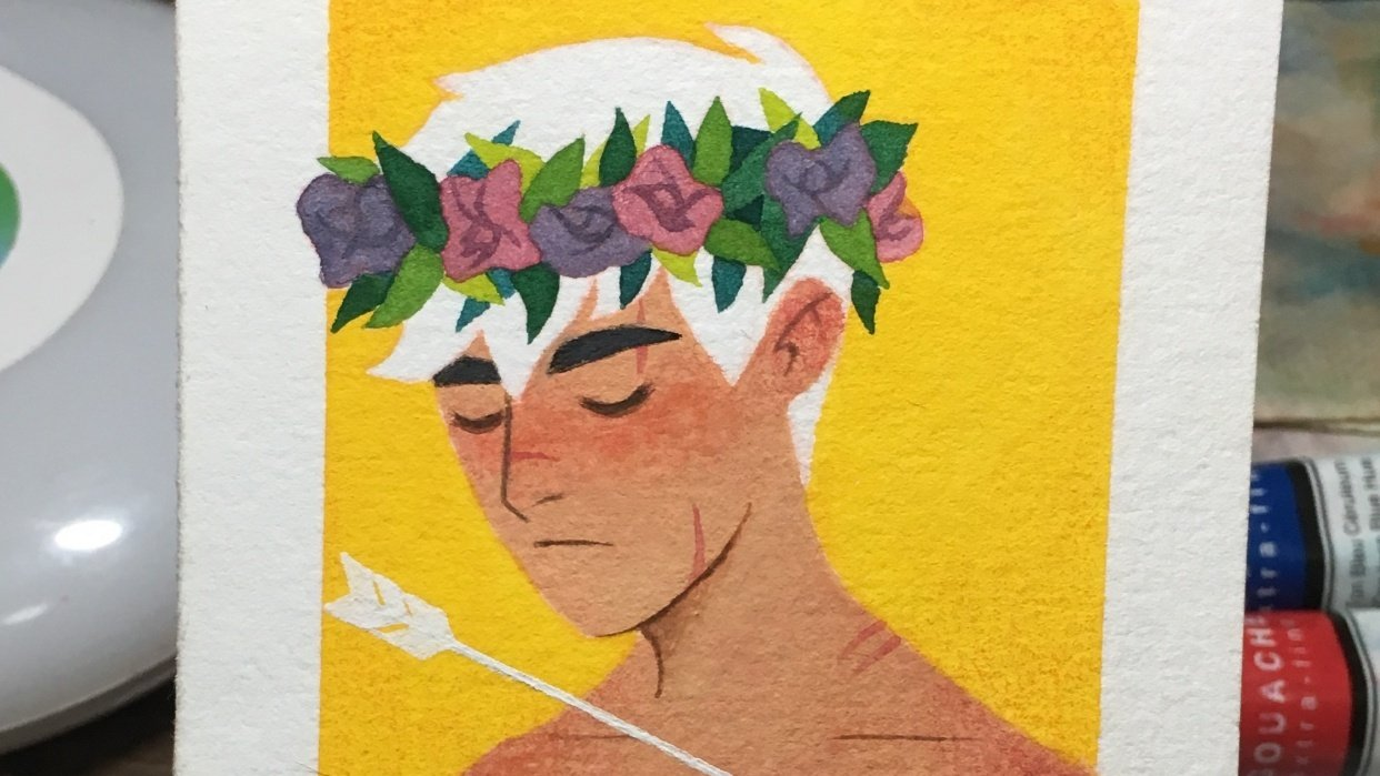 It's a Flower Crown Prince - student project
