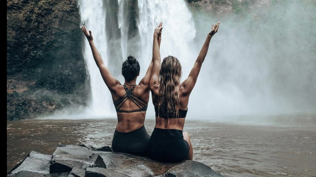 Yoga, Adventure, Lifestyle - student project