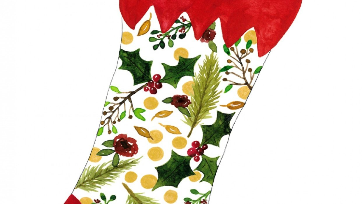Christmas Stocking - student project