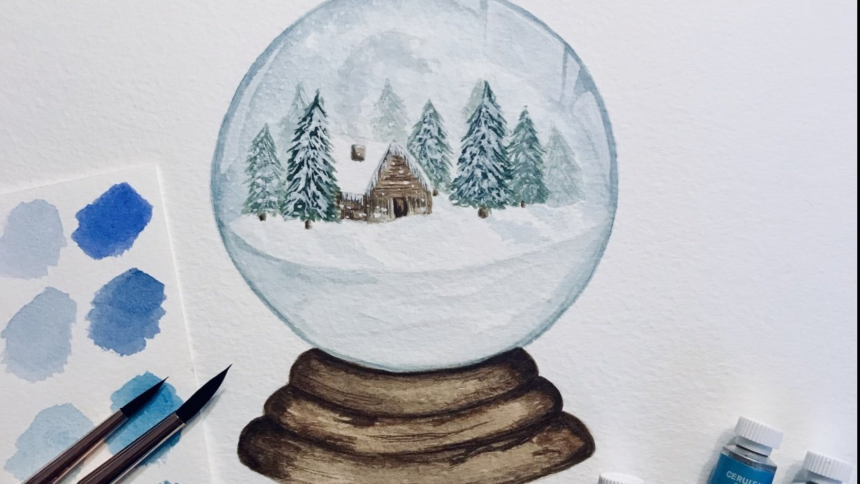Snow Globe No. 1 - student project
