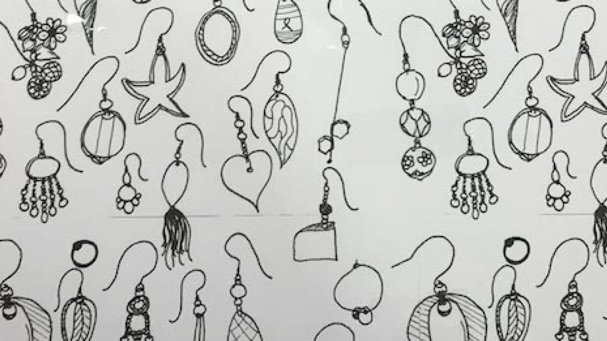 Earrings, earrings, earrings - student project