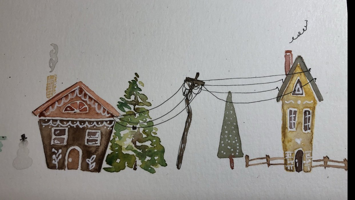 Little Houses with Jamie Kim - student project