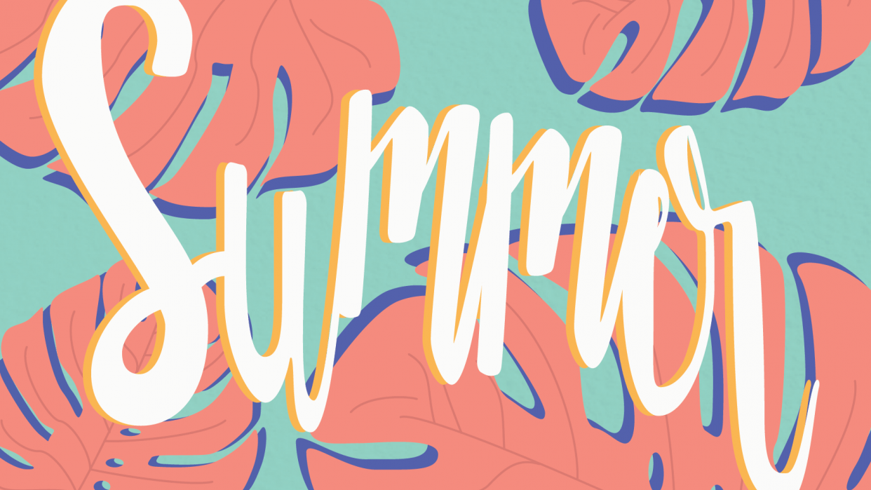 Summer Postcard - student project
