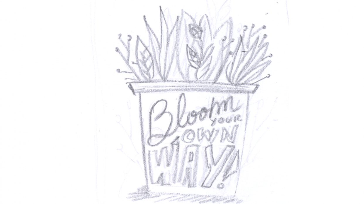 Bloom your own way - student project