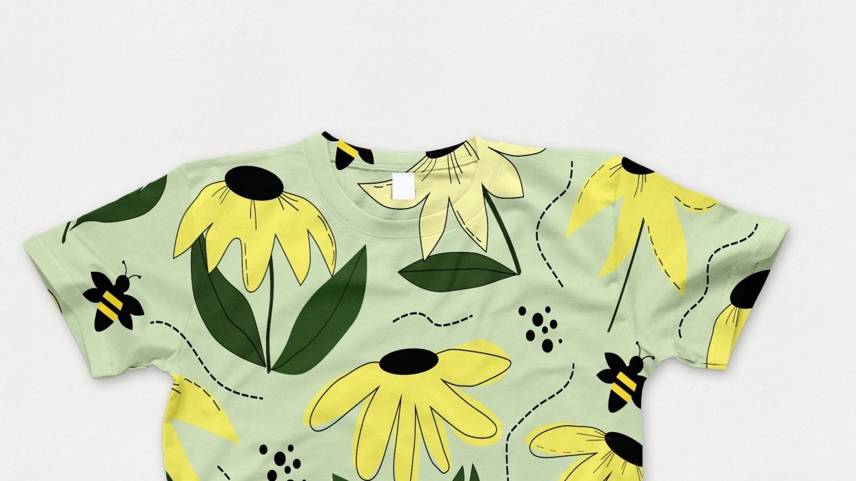 Spring pattern - student project