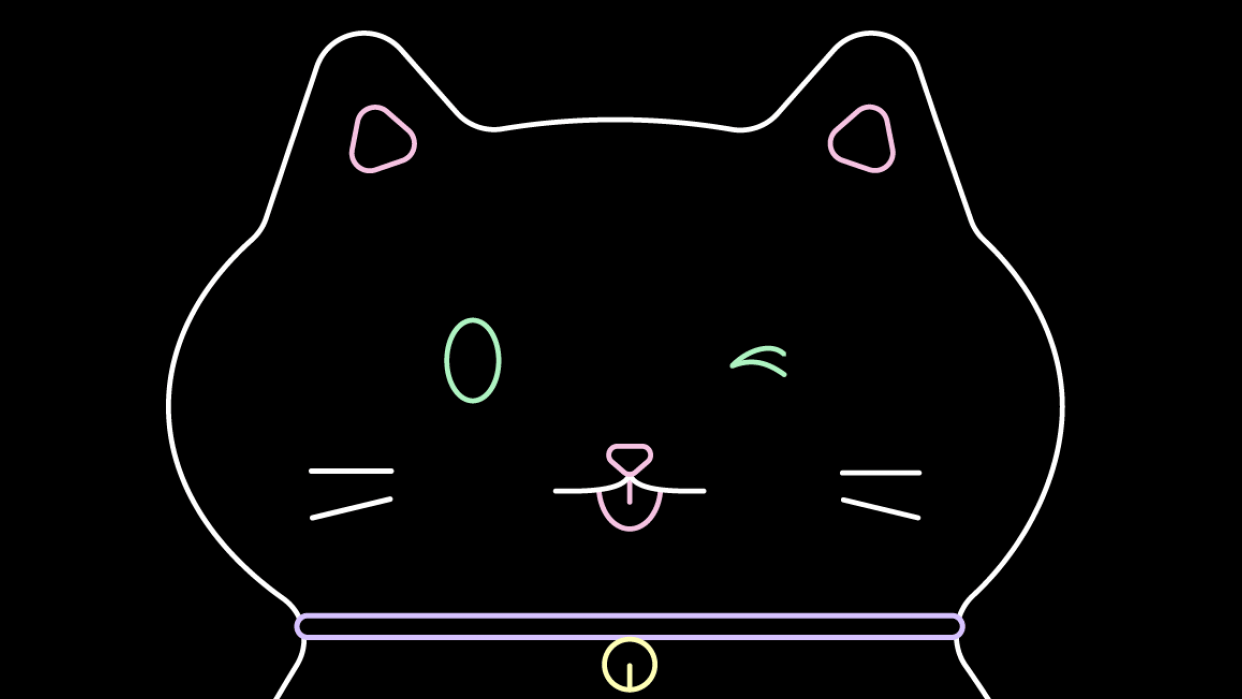 Fortune Telling Kitty - student project