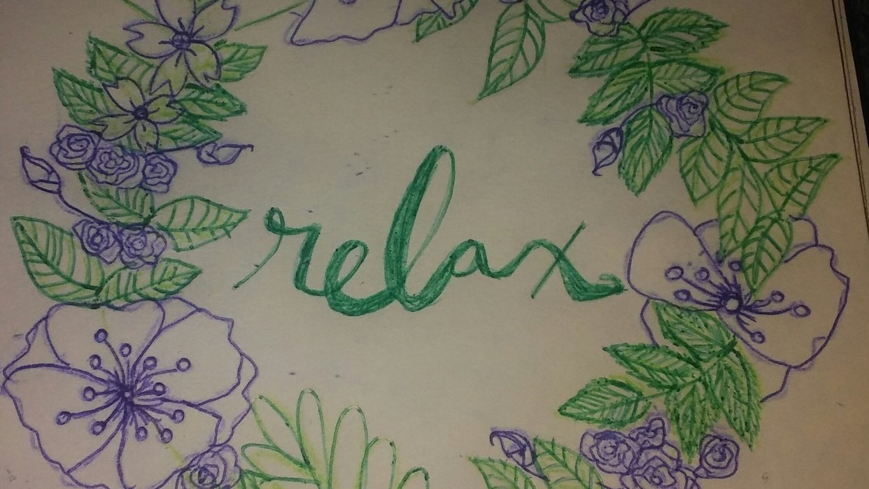 Relax Wreath - student project