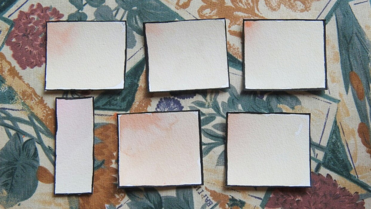 Skin Tone Mixes - student project