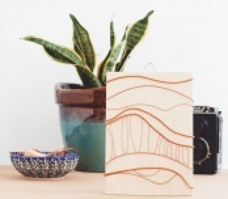 DIY Abstract Copper Artwork - student project