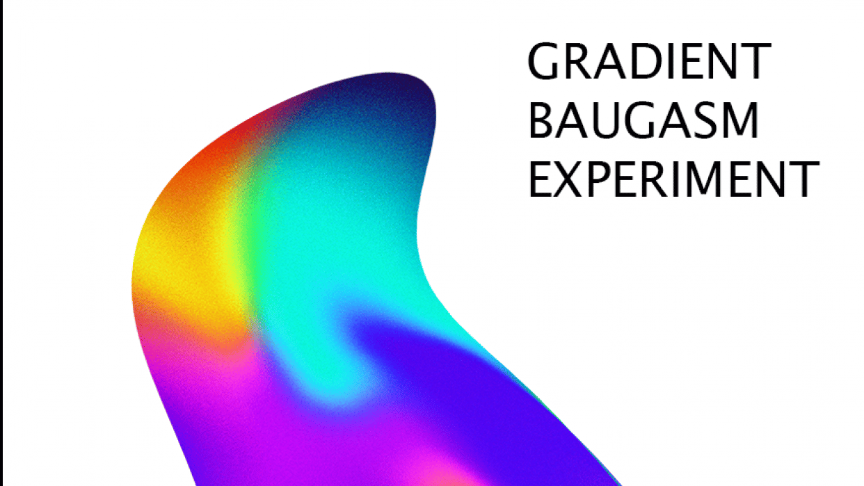 BAUGASM poster #1 - student project