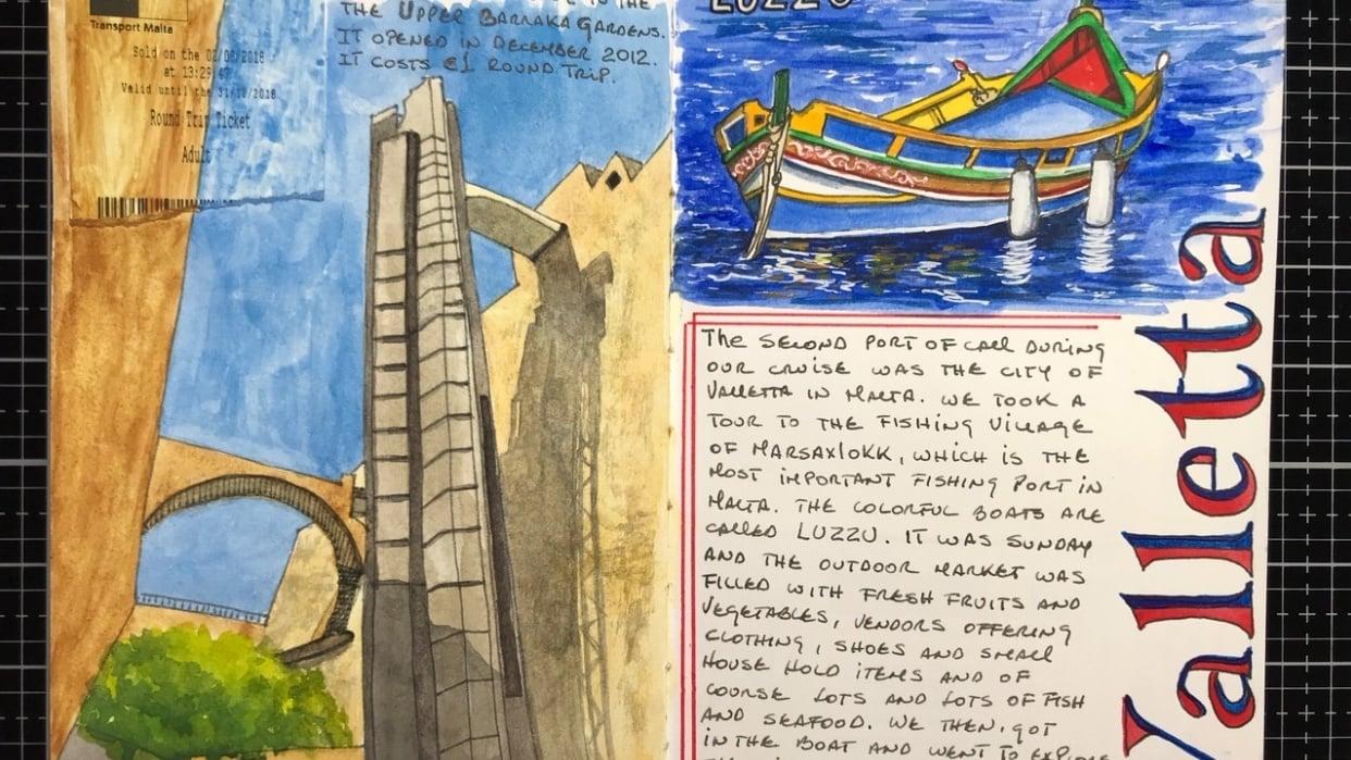 Valleta, Malta - student project