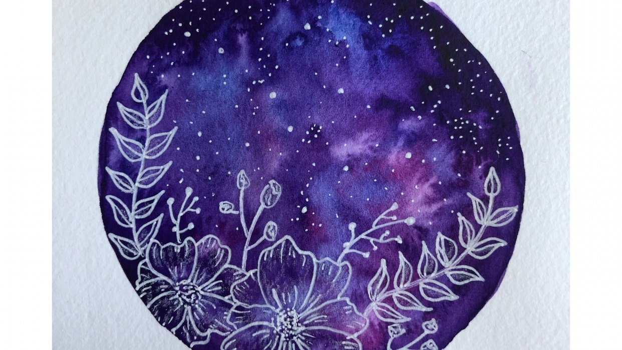 Floral Galaxies - student project