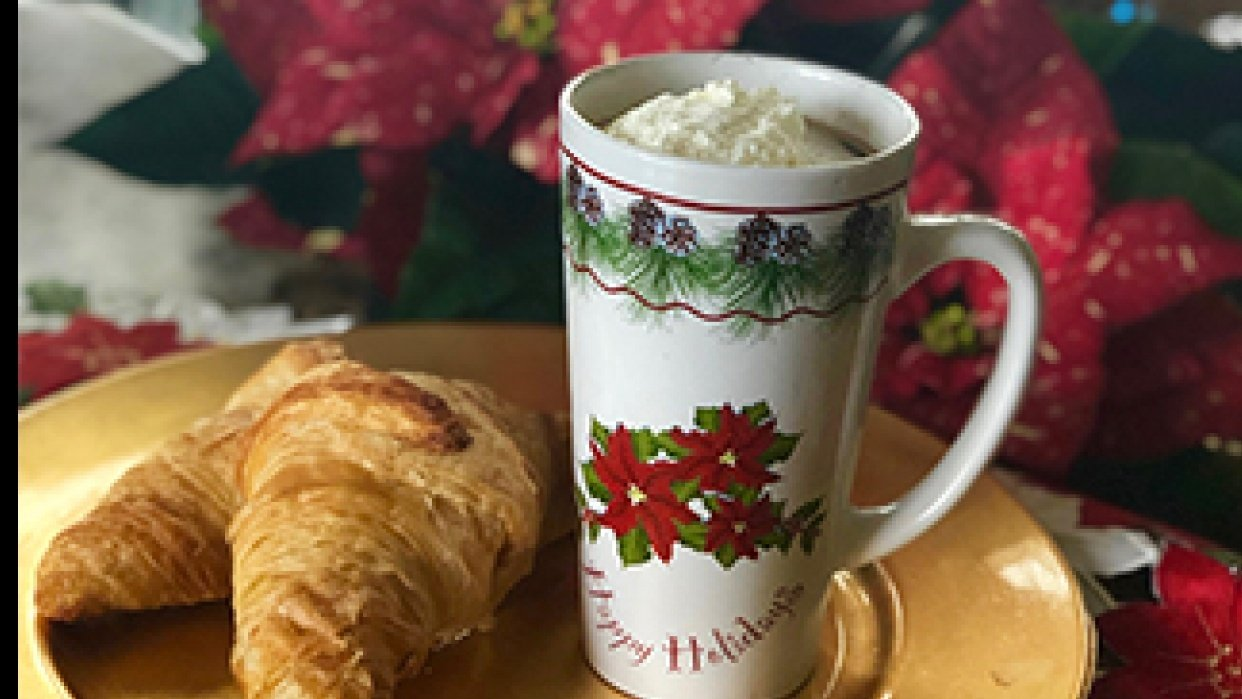 Christmas Cocoa on a Snowy Day - student project