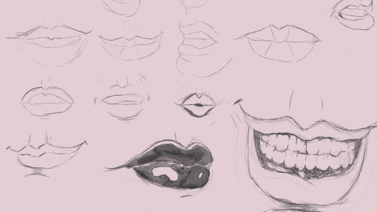 Studying the Mouth - student project