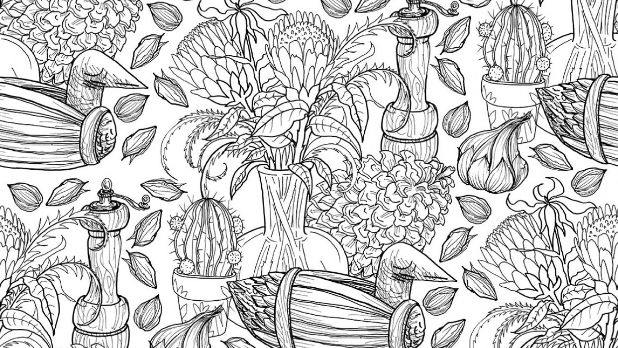Proteas Pattern - student project